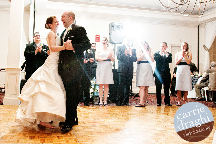 First Dance at Simsbury Inn